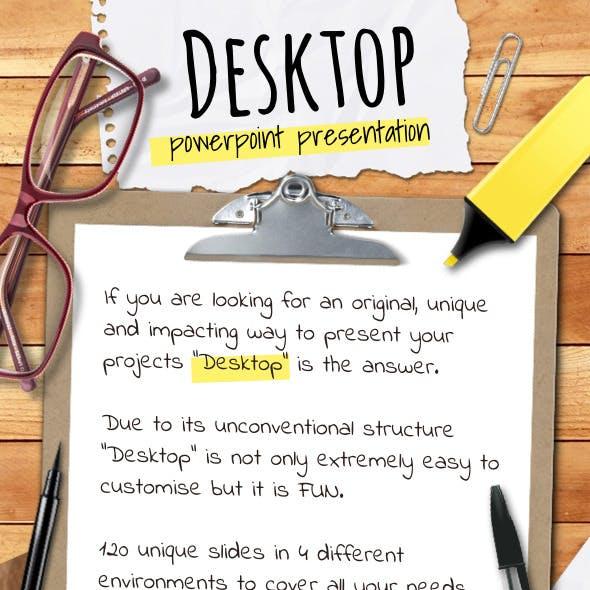 Desktop Powerpoint presentation