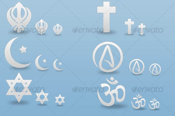 Religions- Icon Pack - Miscellaneous Icons