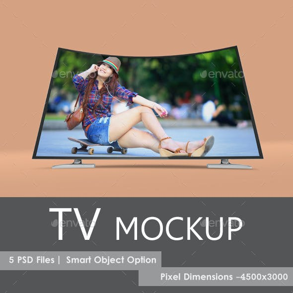 LED TV Mock-Up