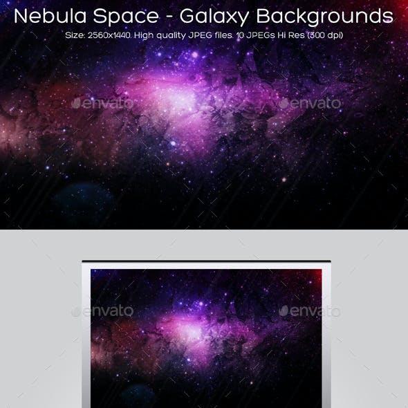Nebula Space - Galaxy Backgrounds