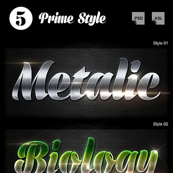 5 Prime Styles