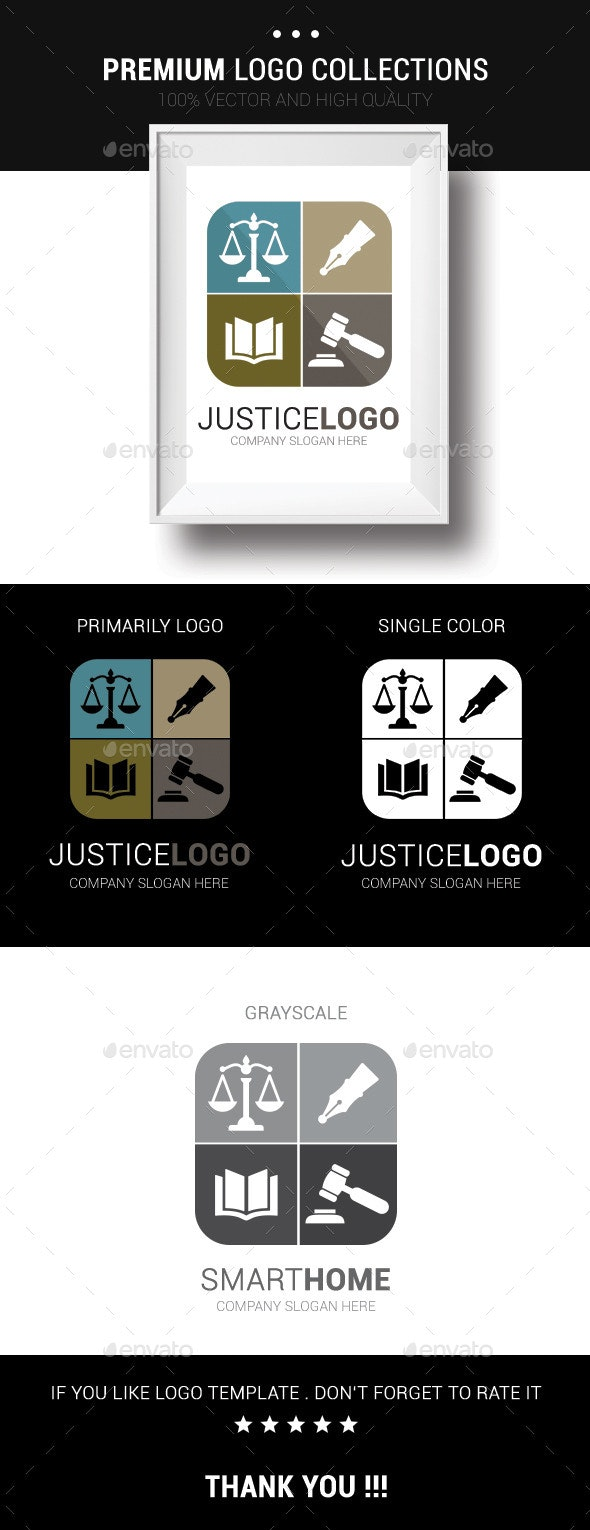 Justice Logo - Humans Logo Templates