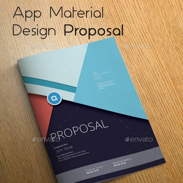 App Material Design Proposal