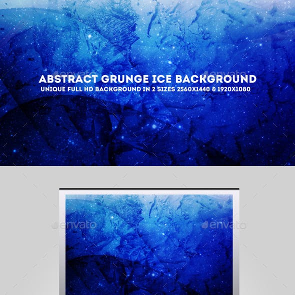 Abstract Grunge Ice Background
