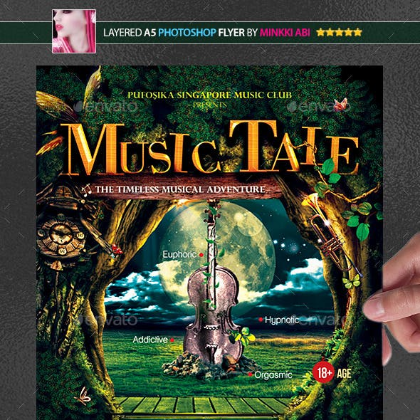 Music Tale Poster/Flyer