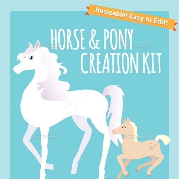 Horse & Pony Creation Kit