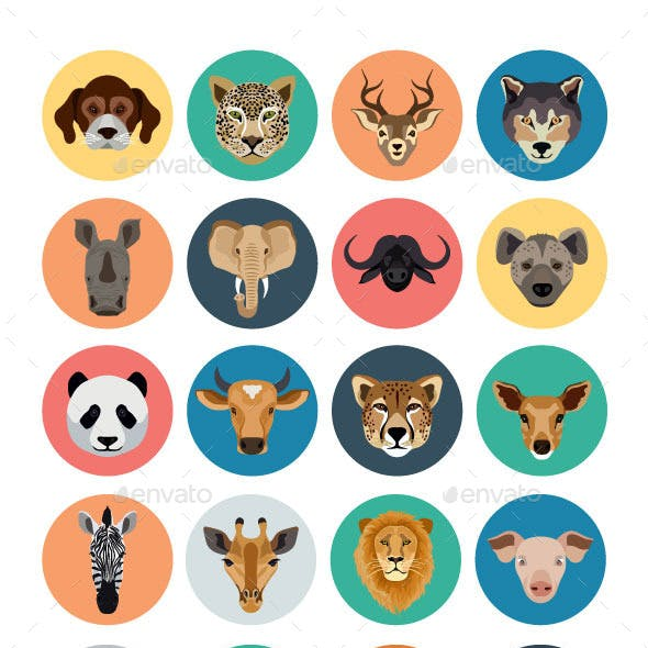 40+ Animals Vector Icons