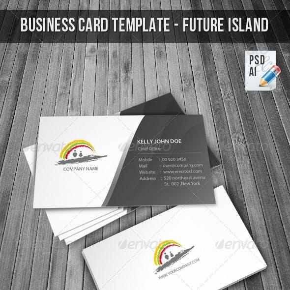 Corporate Business Card & Logo - Future Island