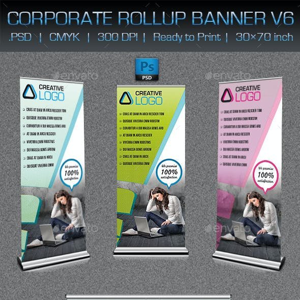 Corporate Business Rollup Banner V8