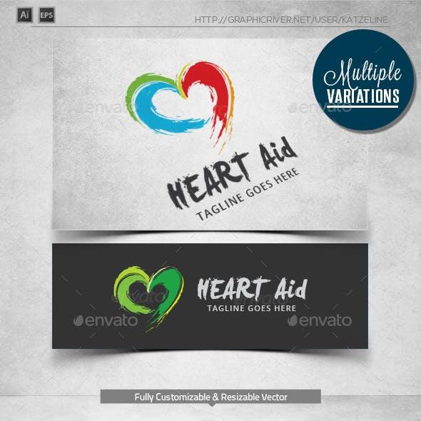 Promising Heart - Logo Template
