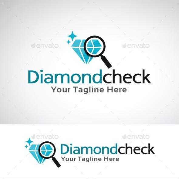Diamond Check Logo Template