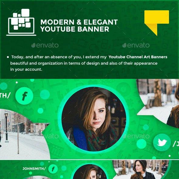 Elegant Youtube Banner