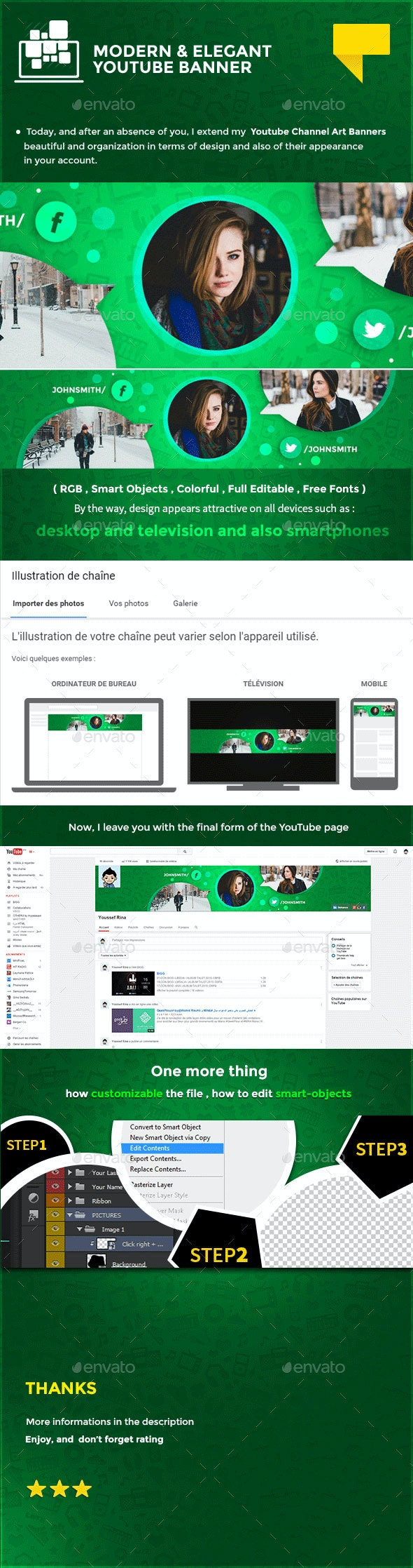 Elegant Youtube Banner - YouTube Social Media