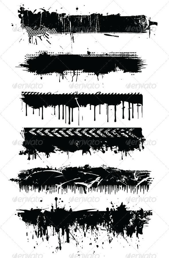 Grunge designs - Decorative Symbols Decorative