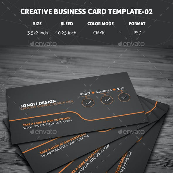 Creative Business Card Template - 02