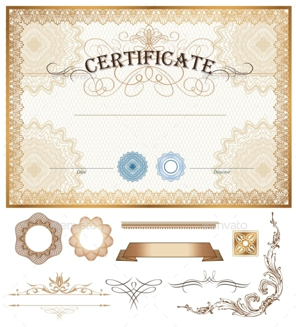 Certificate - Borders Decorative