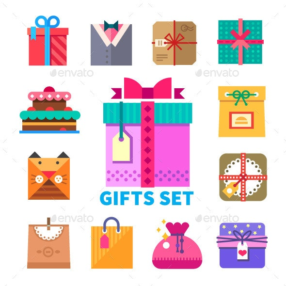 Gifts  - Objects Vectors
