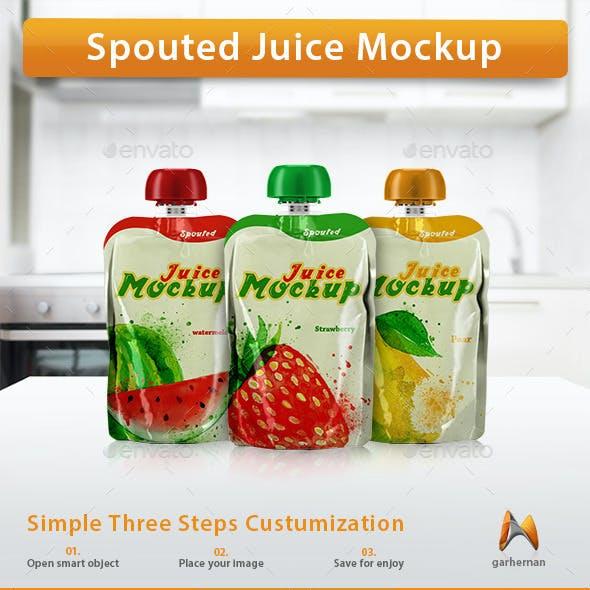 Spouted Juice Mockup