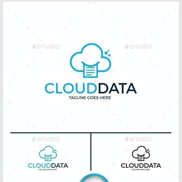 Cloud Data Logo Templates