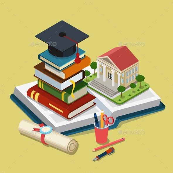 College University Education Graduation