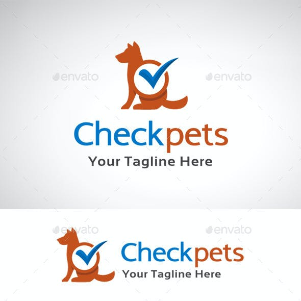 Check Pets Logo Template