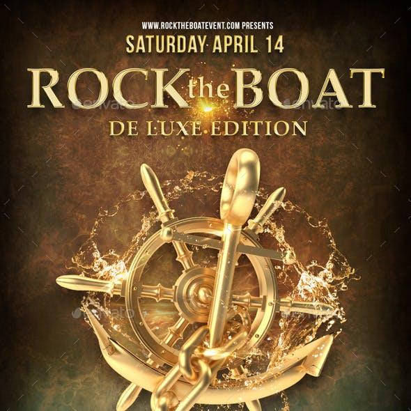 Flyer Rock The Boat