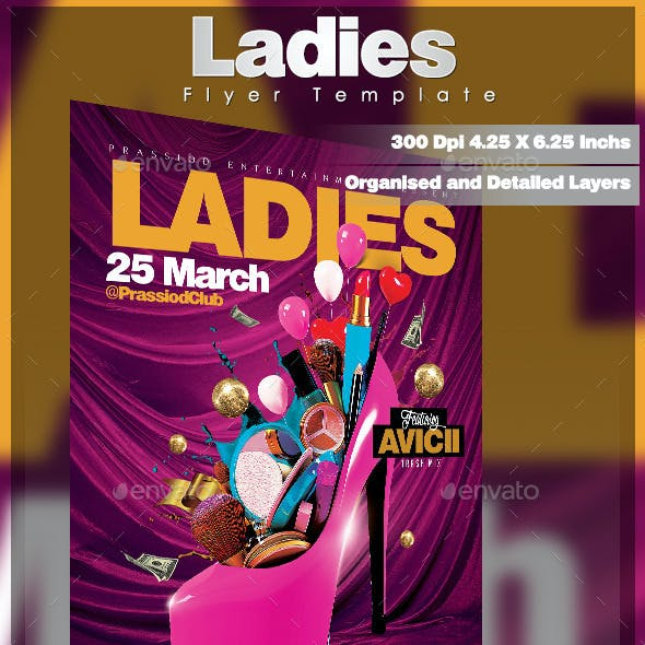 Ladies Flyer Template