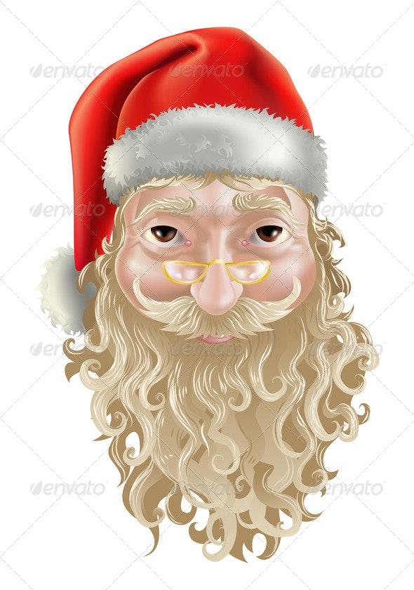 Vector illustration of Santa Claus - Characters Vectors