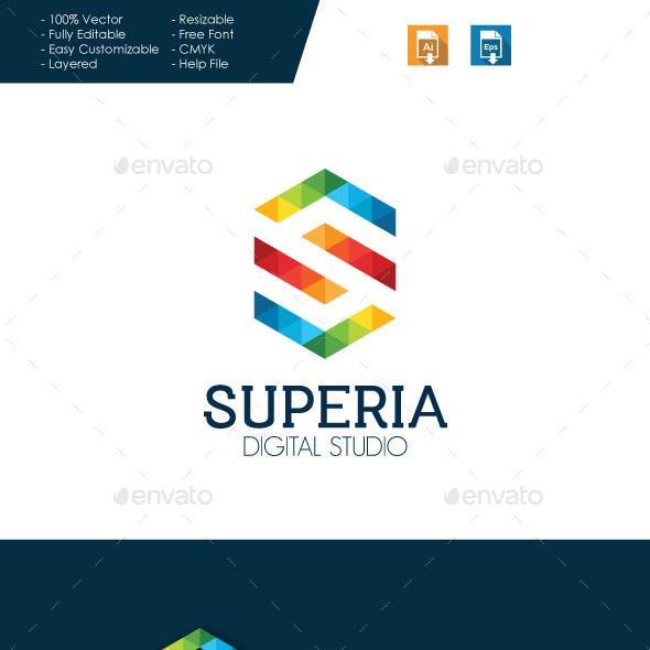 Superia - Letter S Logo