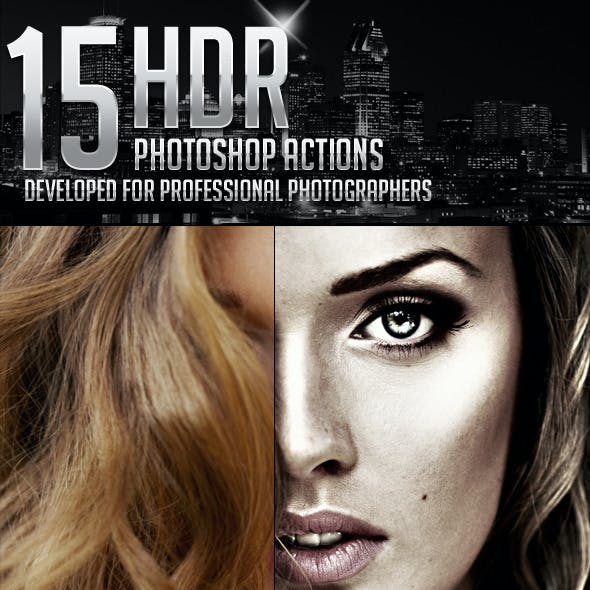 15 HDR Photoshop Actions