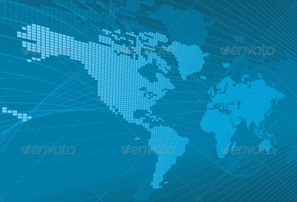 Corporate World Business Background By Krisdog Graphicriver
