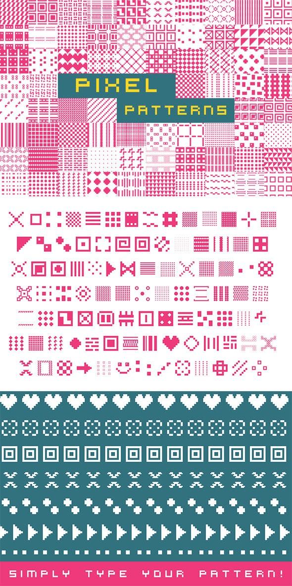 Pixel Patterns - Ding-bats Fonts