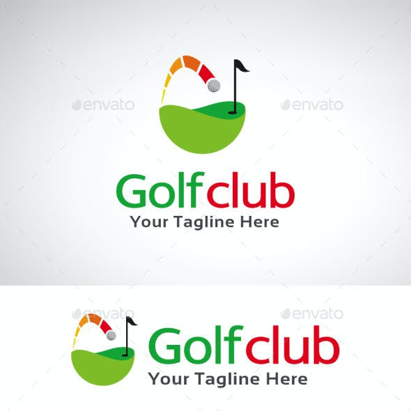 Golf Club Logo Template