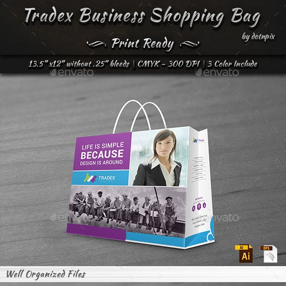 Tradex Business  Shopping Bag