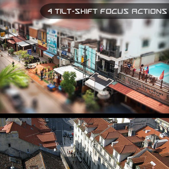 Tilt Shift Focus Actions