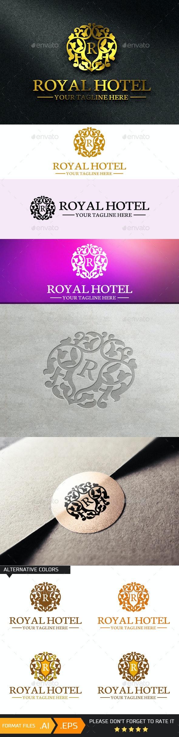 Letter R - Logo Template - Crests Logo Templates