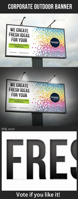 Corporate Outdoor Banner 32