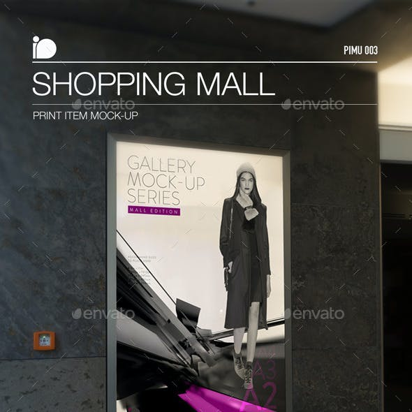 Mock-Up • Shopping Mall
