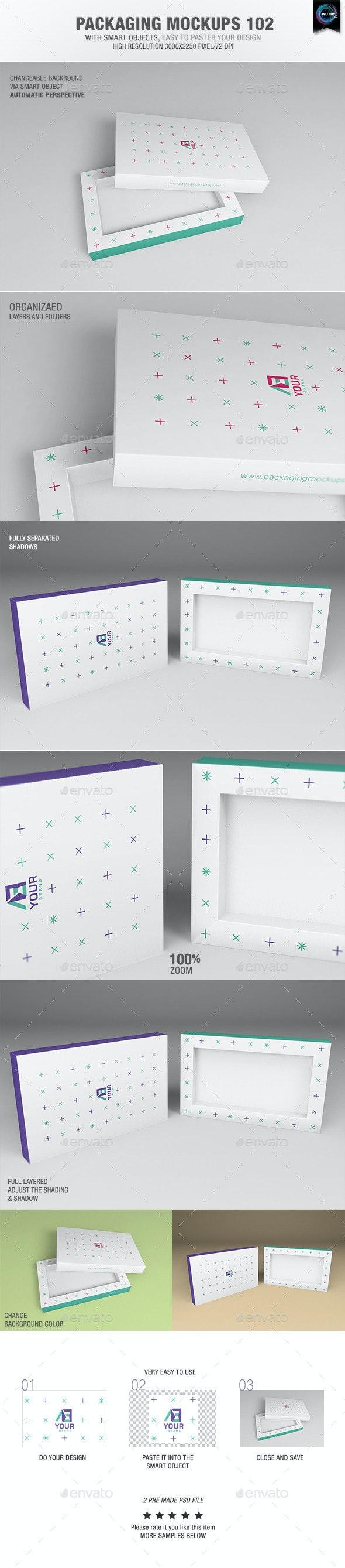 Packaging Mock-ups 102 - Packaging Product Mock-Ups