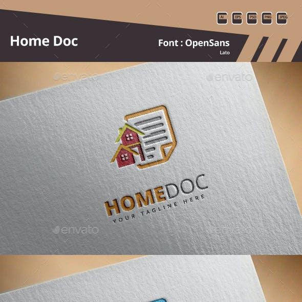 Home Doc Logo Template