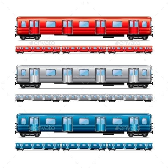 Subway Train Set