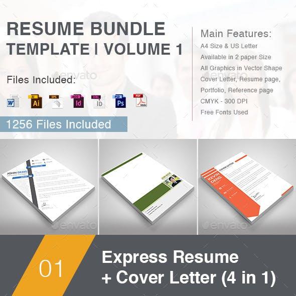 Resume Bundle Template | Volume 1