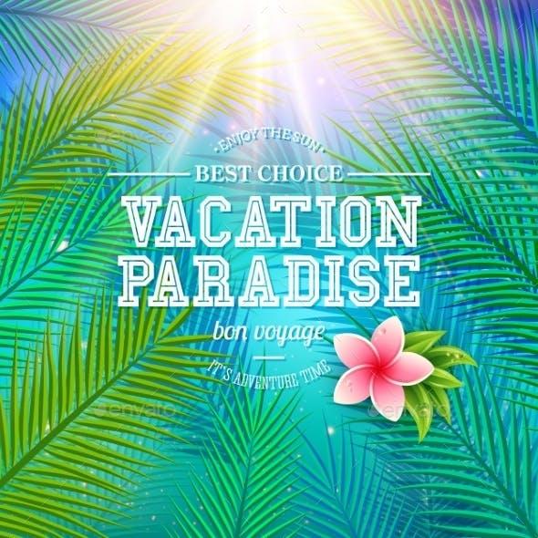 Vacation Paradise - Bon Voyage