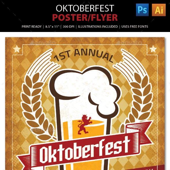 Oktoberfest Poster / Ad / Flyer Template