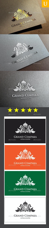 Grand Cempaka Logo Templates - Crests Logo Templates