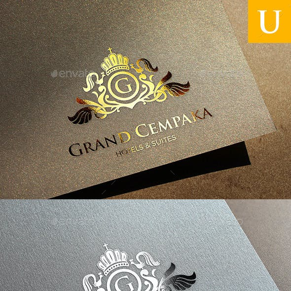 Grand Cempaka Logo Templates