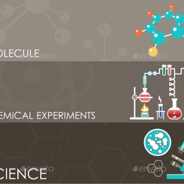 Three Science Banners