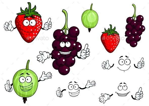 Fruits - Miscellaneous Characters