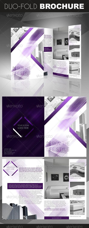 Crystal Duo-Fold / Bi-Fold Brochure - Corporate Brochures