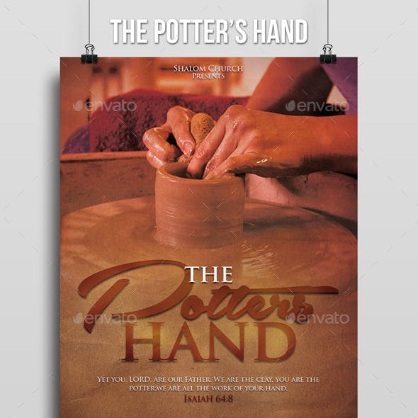 The Potters Hand Church Flyer
